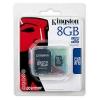 KINGSTON MicroSD HCCard 8GB Class 4