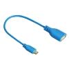 HAMA Flexi-Slim Micro USB OTG Adap blue