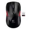 LOGI M525 cordless Mouse USB black