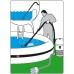 Baseinų ir tvenkinių valymo dulkių siurblys LAVOR Swimmy